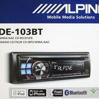 ALPINE CDE 103EBT Head Unit single din
