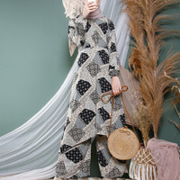 Baju Muslim Kulot Hijabers nurye - Black