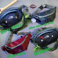tas waistbag distro pria anti air lubang headset/tas murah