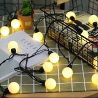 LED Dekorasi Bola Ball 5 meter (Bola Besar) Cafe Wedding Pesta Party