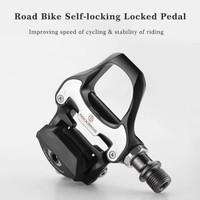 Rockbros Pedal Cleat Sepeda Lipat Balap Roadbike MTB SPD SL LP RD2BK