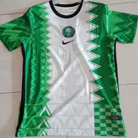JERSEY BOLA NEGARA NIGERIA HOME 2020/2021 GRADE ORI