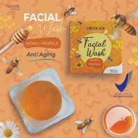 Naminara K-Beauty Facial Soap Bar 50gr Honey + propolis