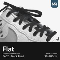 Tali Lilin Gepeng (Finest) 5mm 120cm Aneka Warna Untuk Sepatu Sneakers