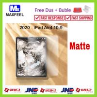 MAXFEEL Tempered Glass Matte Anti Glare iPad 8 10.2 iPad Air 4 10.9