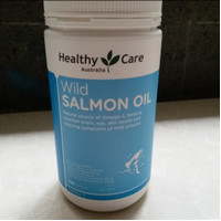 healthy care wild salmon oil omega 3 1000mg 500 tablet