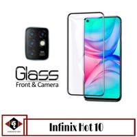 Tempered Glass Layar INFINIX HOT 10 Free Tempered Glass Lens Camera