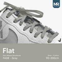 Tali Lilin Gepeng (Finest) 5mm 130cm Aneka Warna Untuk Sepatu Sneakers
