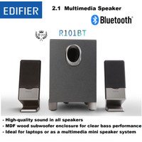 Speaker Multimedia PORTABLE EDIFIER 2.1 R101BT BLUETOOTH