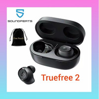 SoundPEATS Truefree 2 TWS Earphone Earbuds Bluetooth IPX 7 Updated Ver