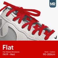 Tali Lilin Gepeng (Finest) 5mm 150cm Aneka Warna Untuk Sepatu Sneakers