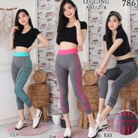 SETELAN Baju Senam fitness olahraga gym yoga zumba import wanita