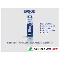 Tinta Epson 664 Original Black - Tinta Printer Epson L120 L310 L360