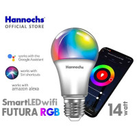 Lampu Smart LED Futura 14 watt RGB Wifi- Bisa Control dari HP-HANNOCHS