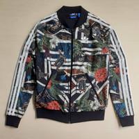 Tracktop Adidas firebird floral women jacket
