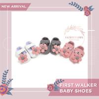 Sepatu Bayi Bunga Flower Baby Girl Shoes Anti Slip Prewalker First