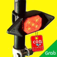 Lampu Sepeda Tail Light LED Automatic Direction Indicator USB - LY6700