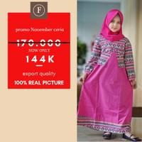 [8-10-12] Baju Gamis Anak Perempuan Kualitas Export GO 13-2