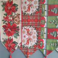 Taplak meja natal - Table Runner christmas