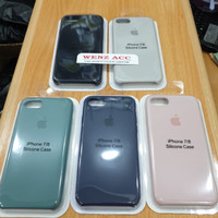Silicone Case Oem Apple Iphone 7 / 8 Casing Cover