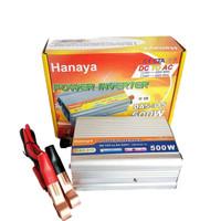 Hanaya DA5-315 Inverter 500W 12V DC to AC 500Watt Free Kabel Inverter