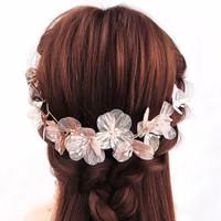 Bride Wedding Hair Accessories AR023 / Headpiece / Aksesoris crystal