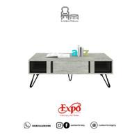 Coffee Table Expo M CT 1239 / Meja Tamu Minimalis / Rak TV / Meja TV
