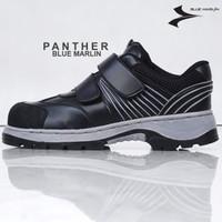 SEPATU SAFETY BLUMAR PANTHER TANPA TALI (Ada Besi Di Ujung Sepatu)