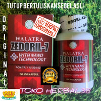 Obat Kanker Original Walatra Zedoril-7 Halal MUI Resmi BPOM ORIGINAL
