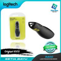 Wireless Presenter Logitech R400 Laser Pointer Laser Merah