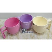 Mug Gelas Hello Kitty 375 Ml Technoplast / Cangkir Plastik Anak Warna