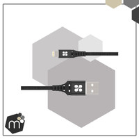 MIMAMO Kabel Data iPhone 2m Slim Lightning Charger Fast Charging