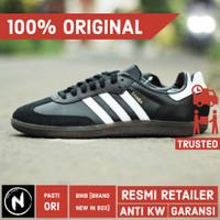 Sepatu Adidas Samba OG Black White Original BNIB