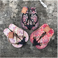 Baru! Havaianas Slim Batik Sandal Jepit Wanita, Size M (37/38)