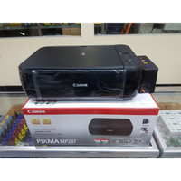 printer canon mp287 + infus print scan copy
