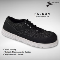BluMar Safety Shoes Falcon Ujung Besi