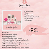 Justmine Beauty Skincare Original BPOM - Varian Glow / Jelly Acne