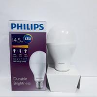Lampu led bulb philips 14,5 watt lampu bohlam led 14.5 w kuning 3000 k