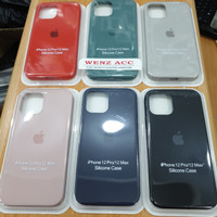 Silicone Silikon Case Oem Apple Iphone 12 Pro 6.1 Inch Casing Cover