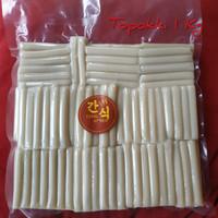 TOPOKI/ TOPPOKI/ TtEOKBOKKI/ TOPOKKI/ RICE CAKE 1KG CEMILAN KOREA
