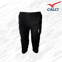 Celana Kiper 3/4 Calci Barca GK 3/4 Pants - Black/White