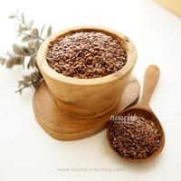 Natural Brown Flaxseed 100 gr