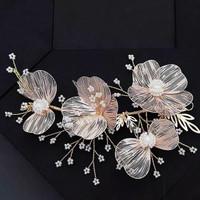 Bride Wedding Hair Accessories AR025 / Headpiece / Aksesoris crystal