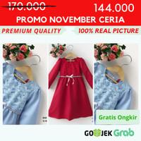 [8-10-12] Baju Gamis Anak Perempuan Kualitas Export DO 188B-2