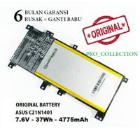 Baterai BATTERY LAPTOP Asus A455L X455L A555L X555L seri C21N1401