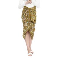 Batik Lasem Sekar Mulyo - Kain Batik Tulis Motif Primis 06 - Lime
