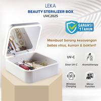 LEKA UVC2025 Beauty Sterilizer Box Lampu UV Kotak Sterilisasi UVC Lamp
