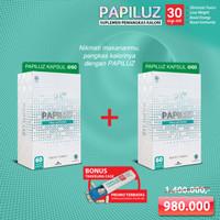 GNT Papiluz Obat Pelangsing [120 Capsules]