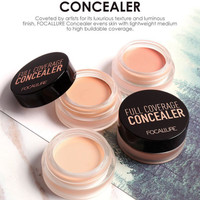 Focallure Krim Concealer Base Tahan lama - 02 lightcream