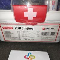 First Aid kotak perlengkapan P3K jinjing onemed